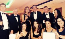 UCH Team Celebrate Winning the Best Sport, Art & Culture Category at Limerick Chamber Awards 2015