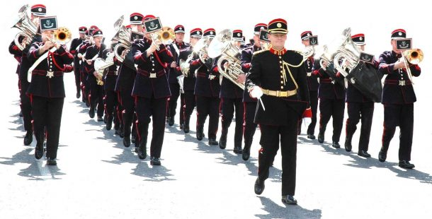 Military Bands & Pipes of the Defence Forces – SUMMER PROMS