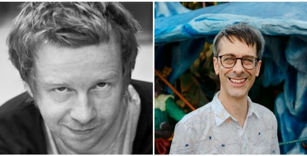 Kevin Barry and Julian Gough