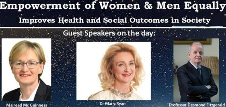Empowerment of Women & Men Improves Health & Social Outcomes in Society