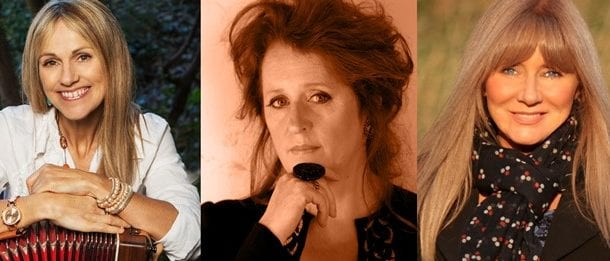 Sharon Shannon, Frances Black & Mary Coughlan